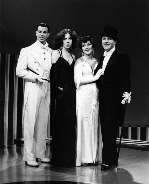 """Manhattan Transfer""Alan Paul, Laurel Masse, Janis Siegel, Tim Hauser1975Photo by Gabi Rona - Image 10687_0003"