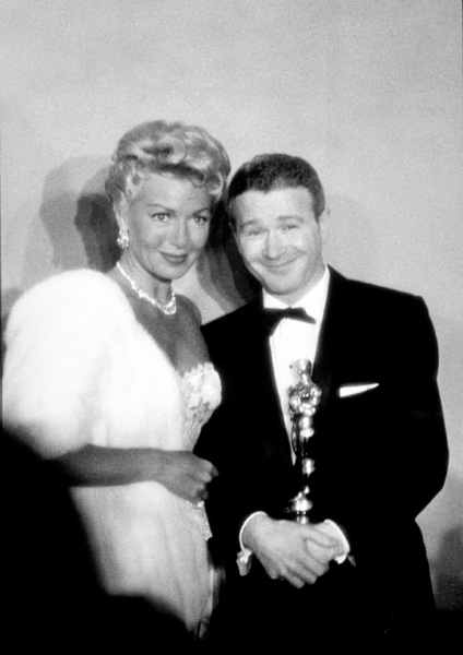 """Academy Awards: 30th Annual,"" Lana Turner and Red Buttons. 1958. © 1978 Sid Avery - Image 10764_0014"