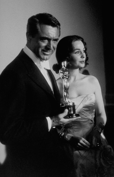 """Academy Awards: 30th Annual,"" Cary Grant, Jean Simmons. 1958. © 1978 Sid Avery - Image 10764_0020"