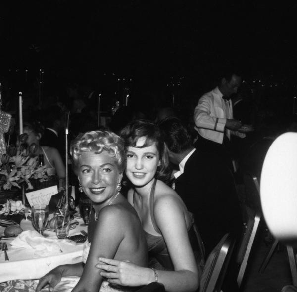 """The 30th Annual Academy Awards""Lana Turner, Cheryl Crane 1958 © 1978 Bernie Abramson - Image 10764_0074"