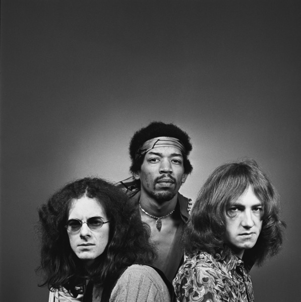 Jimi Hendrix, Mitch Mitchell and Noel Redding 1969 © 1978 Ed Thrasher - Image 10778_0015