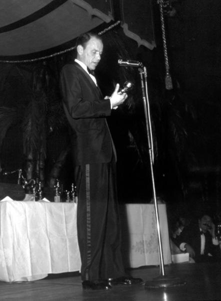 """Golden Globe Awards"" 1958.Frank Sinatra © 1978 Bernie Abramson - Image 10782_0009"