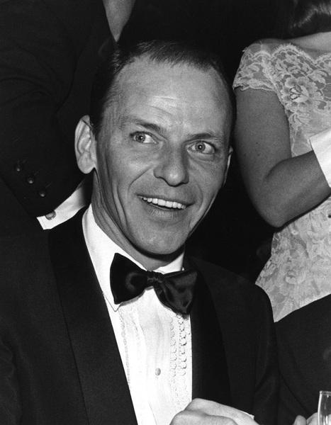 """Golden Globe Awards"" Frank Sinatra circa 1960 © 1978 Bernie Abramson - Image 10782_0012"