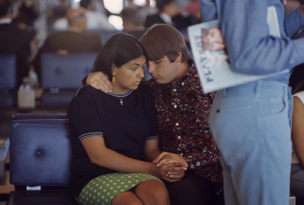 The Beach Boys (Carl Wilson and Annie) circa 1966 © 1978 Gunther - Image 10841_0109