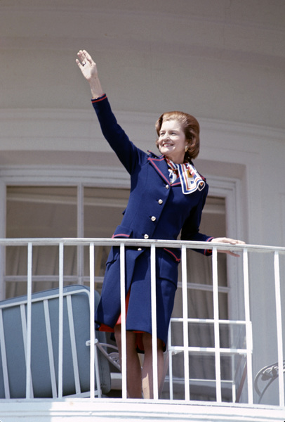 Betty Ford at the White Housecirca 1976 © 1978 Gunther - Image 10856_0005