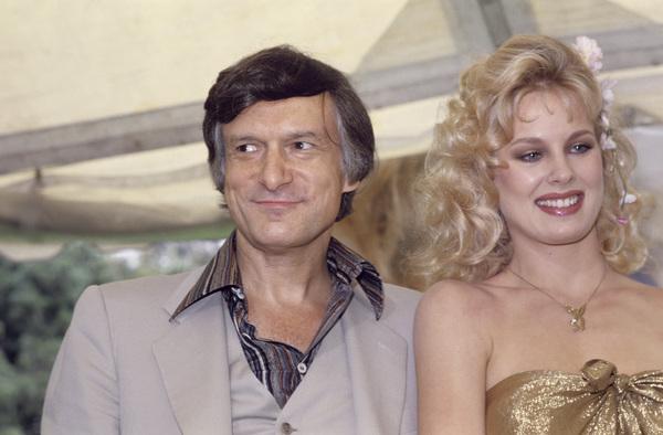 Hugh Hefner with Dorothy Stratten1979© 1979 Jean Cummings - Image 10869_0021