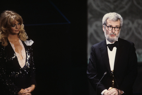 """""""The 52nd Annual Academy Awards""""Goldie Hawn, Robert Benton1980© 1980 Gunther - Image 10877_0083"""