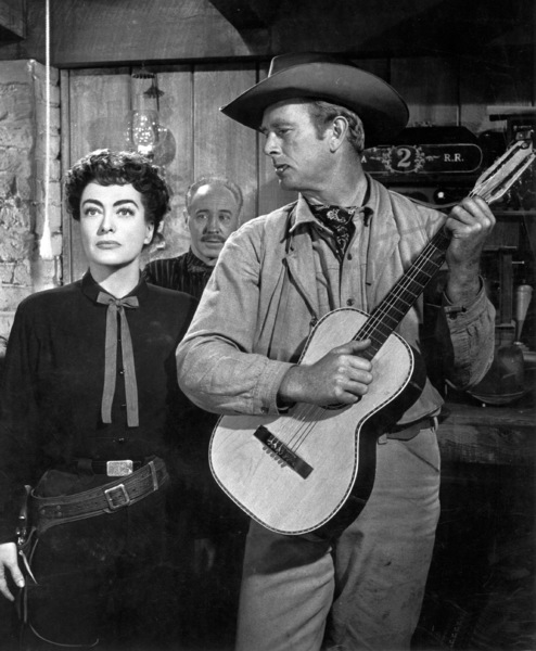 """Johnny Guitar""Joan Crawford,Sterling Hayden © 1954 Republic - Image 10911_0003"