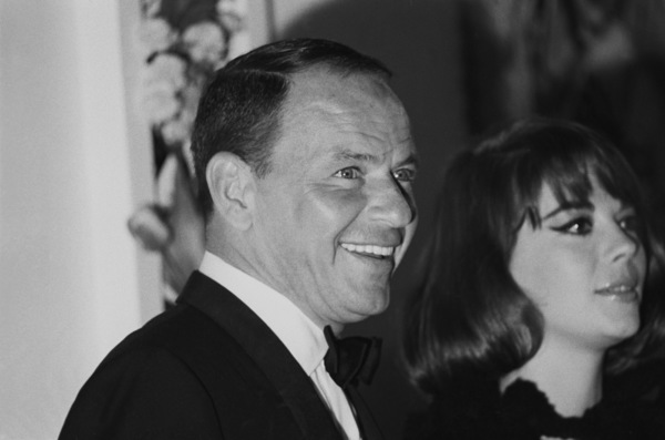 "Frank Sinatra and Natalie Wood at the premiere of ""My Fair Lady""1964 © 1978 Chester Maydole - Image 11078_0017"