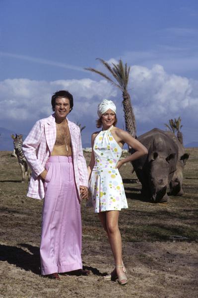 "Michael ""Mickey"" Callan and Katherine Justicecirca 1966© 1978 Gene Trindl - Image 11161_0003"