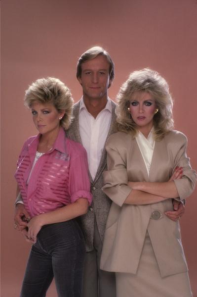 """Knots Landing""Lisa Hartman, Ted Shackelford, Donna Mills 1984© 1984 Mario Casilli - Image 1130_0026"