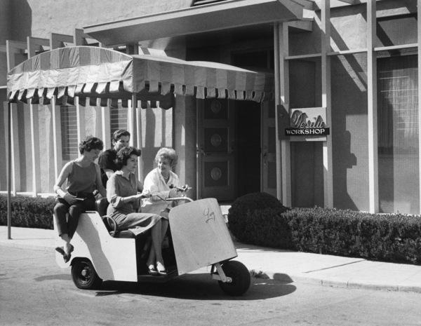 Lucille Ball at Desilu Workshop circa 1960s© 1978 David Sutton - Image 1135_0001