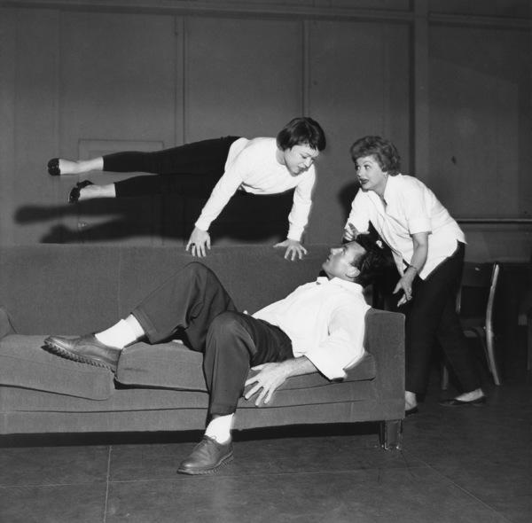 Lucille Ball at a Desilu workshop circa 1960s© 1978 David Sutton - Image 1135_0002