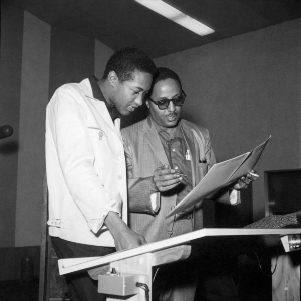 Sam Cooke and Rene Hallcirca 1960s** I.V.M. - Image 11352_0042