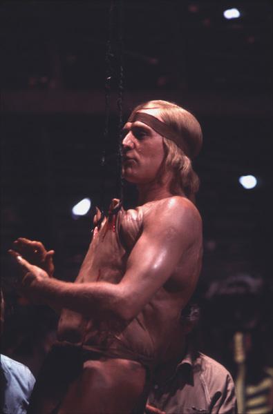 """A Man Called Horse,"" Richard Harris1970 Cinema Center © 1978 Mel Traxel - Image 11481_0002"