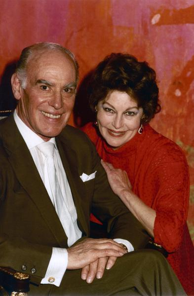 Sydney Guilaroff and Ava Gardner1983© 1983 Wallace Seawell - Image 11487_0001