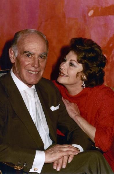 Sydney Guilaroff and Ava Gardner1983© 1983 Wallace Seawell - Image 11487_0004