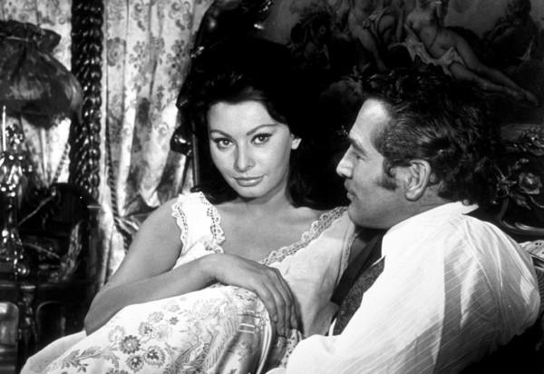 """""""Lady L,""""Sophia Loren & Paul Newman.1965 MGM - Image 11666_0001"""