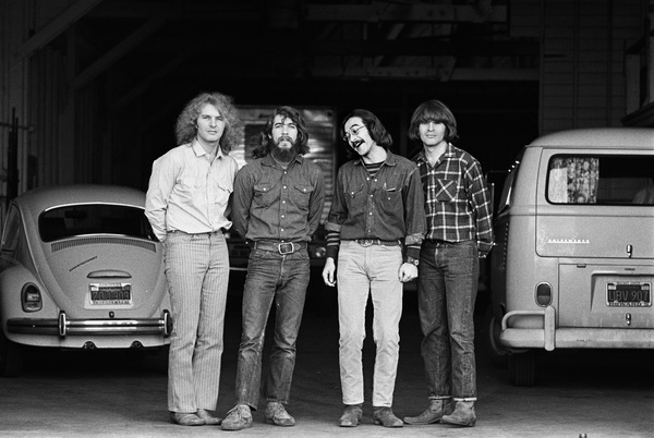 """""""Creedence Clearwater Revival""""Tom Fogerty, Doug Clifford, Stu Cook, John Fogerty1969 © 1978 Gunther - Image 11745_0003"""