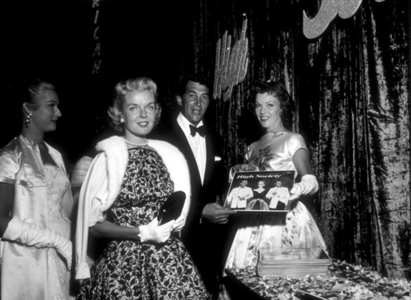 """High Societ"" Premiere,Dean Martin and wife Jeanne, 1956. - Image 11807_0004"