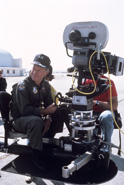"""""""The Right Stuff""""General Chuck Yeager1983 Warner© 1983 Ron Grover - Image 11824_0030"""