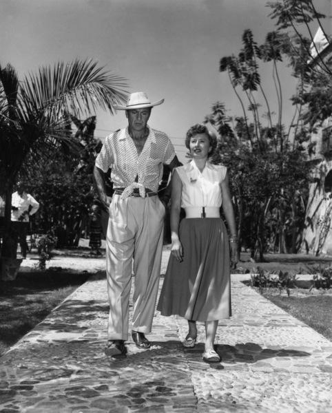 """Blowing Wild""Gary Cooper, Barbara Stanwyck1953 Warner Brothers - Image 11875_0002"