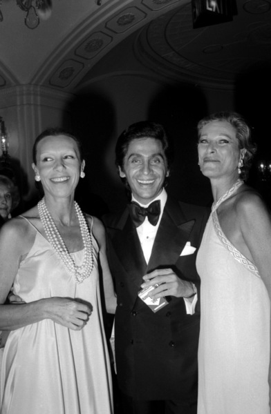 "Valentino ""Kennedy Benefit For Special Olympics,"" 1976 (c) 1978 Gunther - Image 11936_0009"