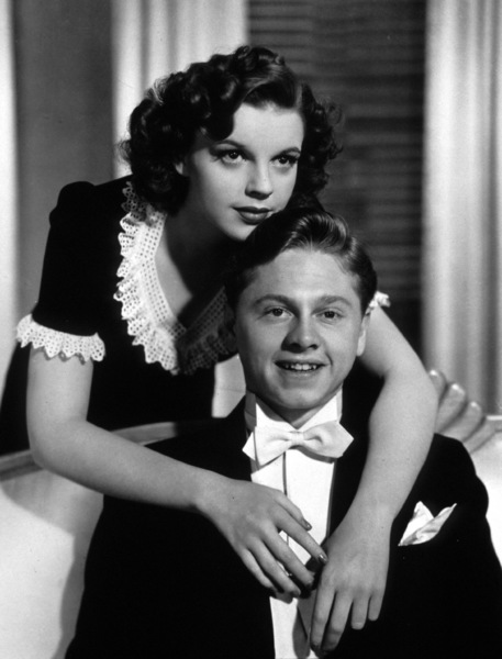 Judy Garland, Mickey RooneyFilm SetAndy Hardy Meets A Debutante (1940)0032206MGM - Image 12001_0001