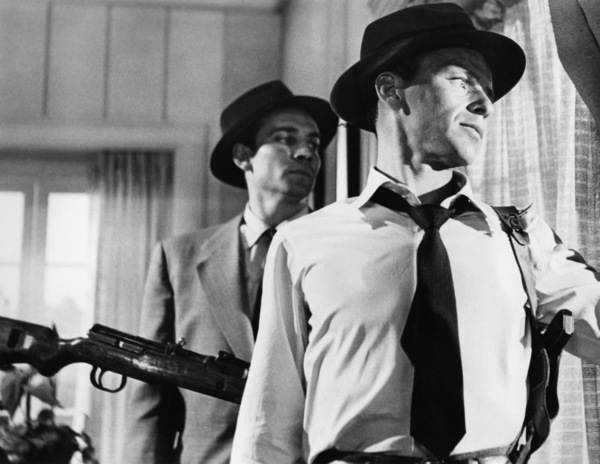 "Christopher Dark and Frank Sinatra in ""Suddenly""1954 United Artists** I.V. - Image 12046_0004"