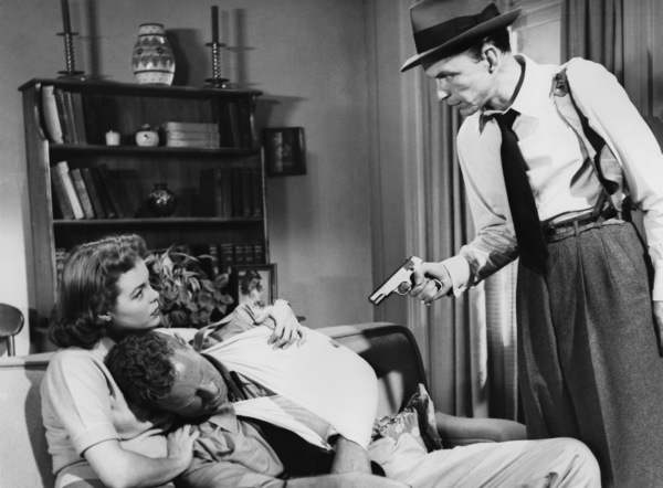 "Nancy Gates, Sterling Hayden and Frank Sinatra in ""Suddenly""1954 United Artists** I.V. - Image 12046_0005"