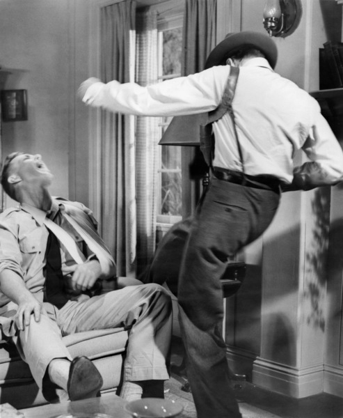 "Sterling Hayden and Frank Sinatra in ""Suddenly""1954 United Artists** I.V. - Image 12046_0008"