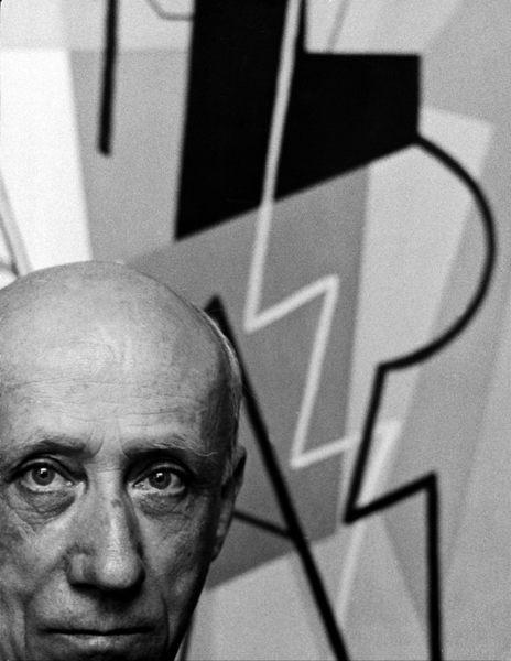 Gino Severini, cubist Italian paintercirca 1950s © 1978 Sanford Roth / LACMA - Image 12080_0002