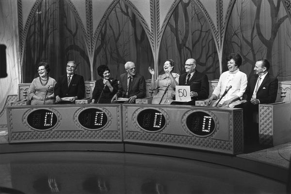 """""""The Newlywed Game""""1967Photo by Bert Mittleman - Image 12136_0004"""