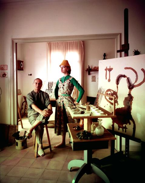 Joan Miro1955 © 2000 Mark Shaw - Image 12410_0008