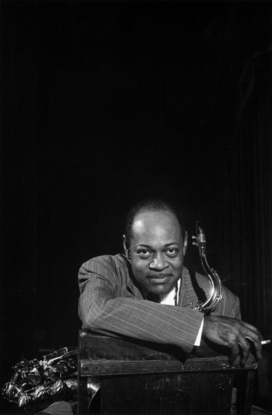 Coleman Hawkins at the Shrine Auditorium for Norman Granz