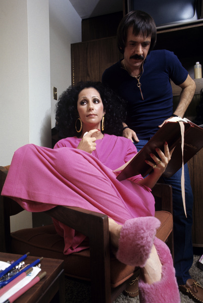 """""""The Sonny and Cher Comedy Hour""""Cher, Sonny Bono1972© 1978 Gene Trindl - Image 1273_0071"""