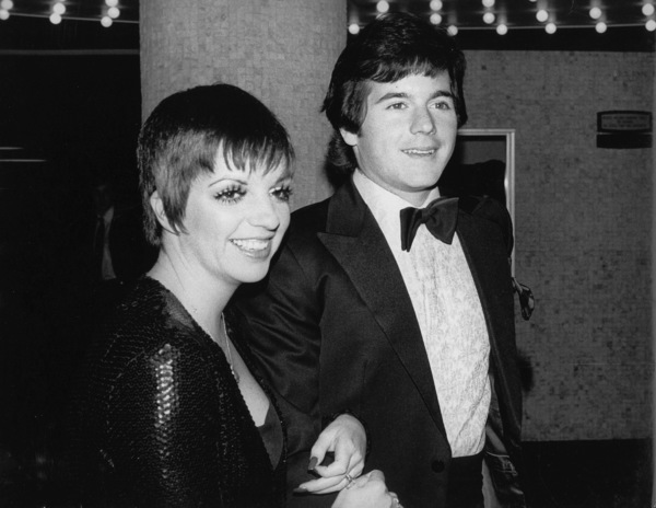 """Golden Globe Awards: 1973""Liza Minnelli and Desi Arnaz Jr. © 1978 Kim Maydole Lynch - Image 13007_0002"