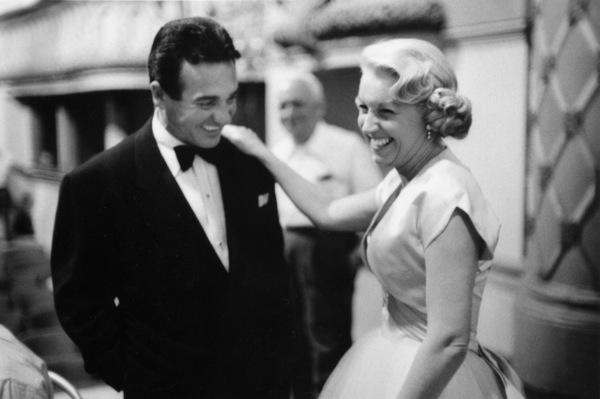 """The Benny Goodman Story,"" Universal 1955.Gene Krupa and Helen O"