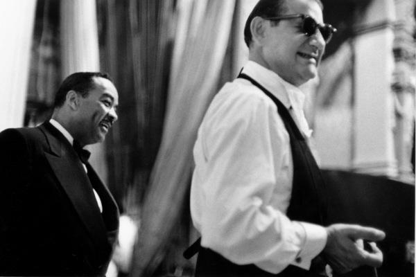 """The Benny Goodman Story,"" Universal 1955.Teddy Wilson and Ziggy Ellman © 1978 Bob Willoughby / MPTV - Image 13326_3"