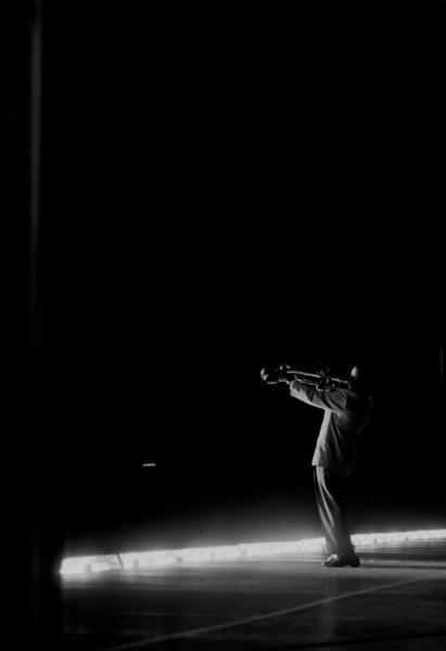 "Roy ""Little Jazz"" Eldridge at the Shrine Auditorium for Norman Granz"