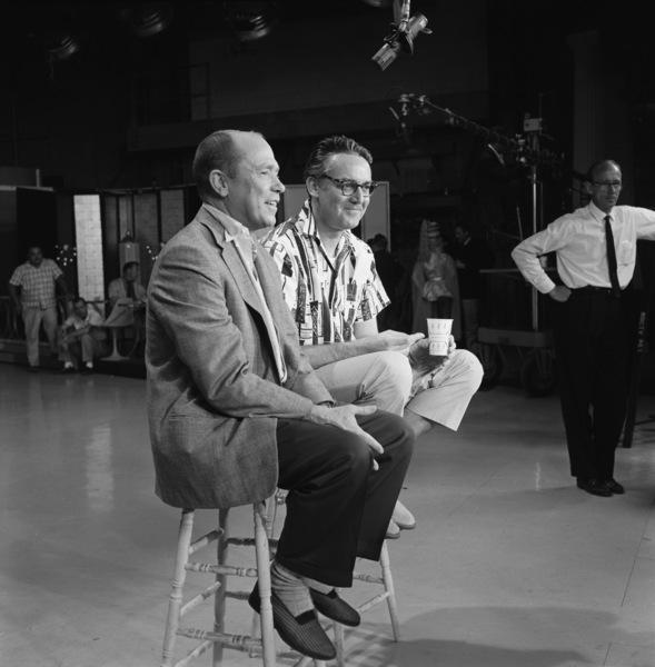 """The Steve Allen Plymouth Show""Johnny Mercer, Steve Allencirca 1960© 1978 Gerald Smith - Image 13414_0013"