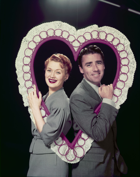 """Dear Phoebe""Marcia Henderson, Peter Lawfordcirca 1955Photo by Gerald Smith - Image 13419_0001"