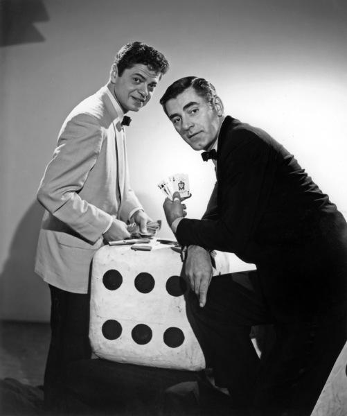 """Mr. Lucky""Ross Martin, John Vivyan1959Photo by Gabi Rona - Image 13584_0011"