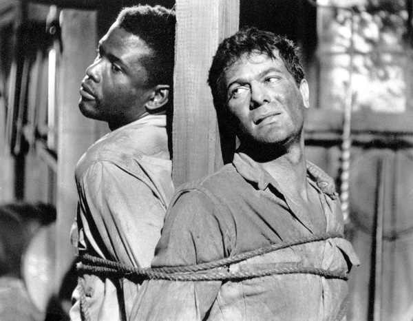 """The Defiant Ones""Sidney Poitier & Tony Curtis 1958 MGM**I.V. - Image 1369_0006"