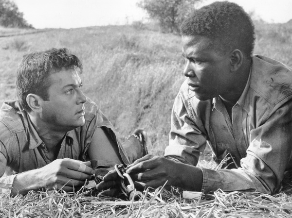 """The Defiant Ones""Tony Curtis & Sidney Poitier1958 MGM**I.V. - Image 1369_0007"