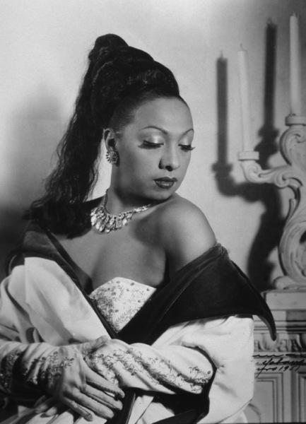 Josephine Baker, 1951.**I.V. - Image 13694_0005