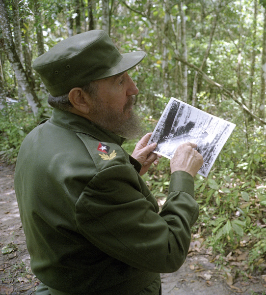 Fidel Castro in the Sierra Maestras in Cuba1996© 1996 Patrick D. Pagnano - Image 14001_0003