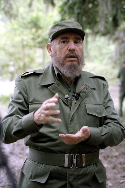 Fidel Castro in the Sierra Maestras in Cuba1996© 1996 Patrick D. Pagnano - Image 14001_0006
