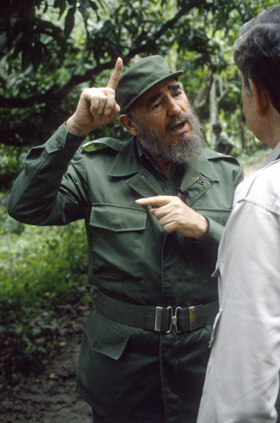 Fidel Castro in the Sierra Maestras in Cuba1996© 1996 Patrick D. Pagnano - Image 14001_0011