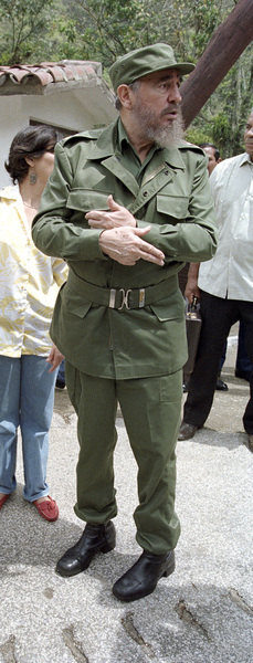 Fidel Castro in Cuba at rural school1996© 1996 Patrick D. Pagnano - Image 14001_0025